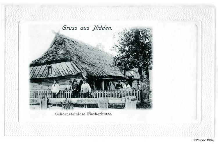 Nidden, Fischerhütte