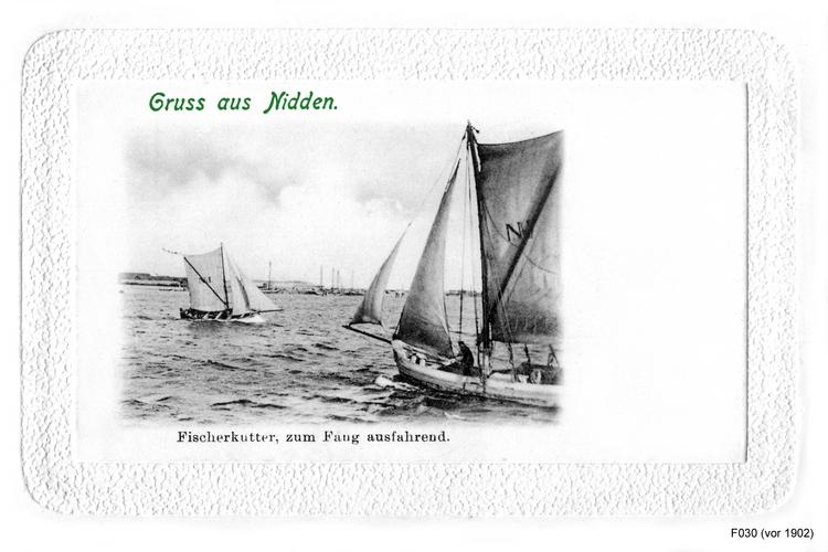 Nidden, Fischerkutter