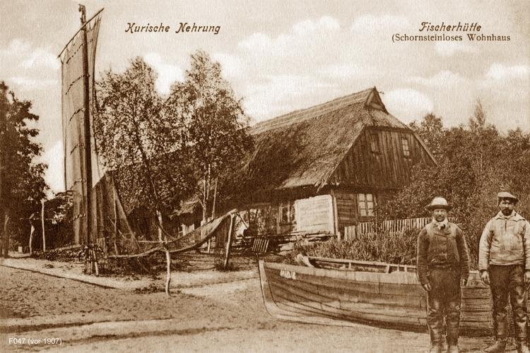 Kurische Nehrung, Fischerhütte