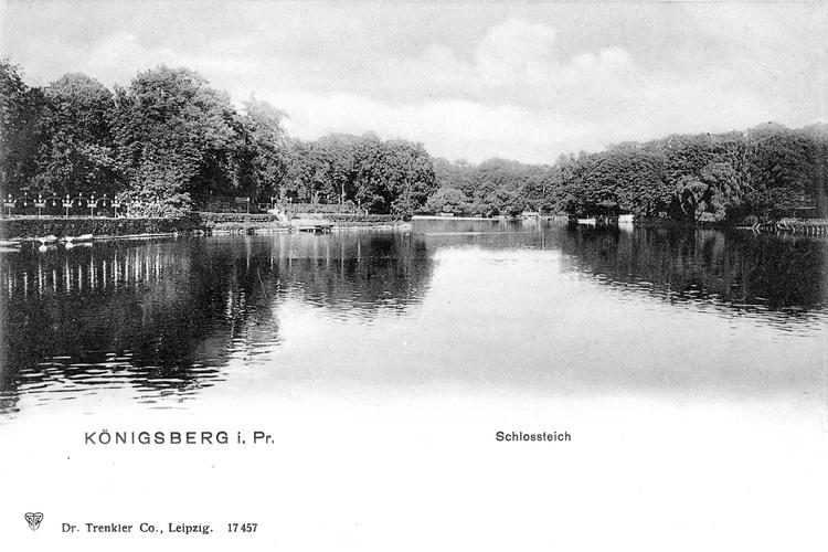 Königsberg, Schloßteich an den Logen