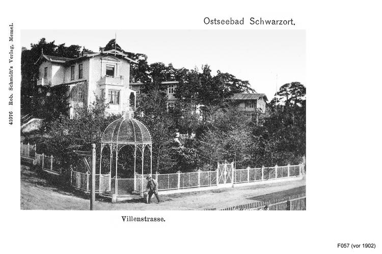 Schwarzort, Villenstraße
