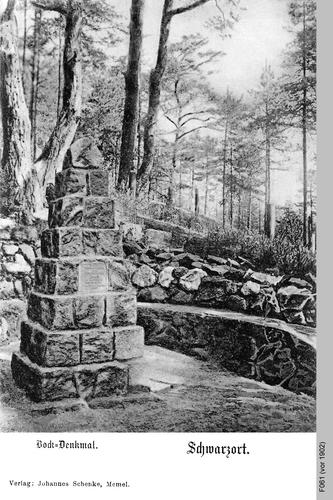 Schwarzort, Bockdenkmal