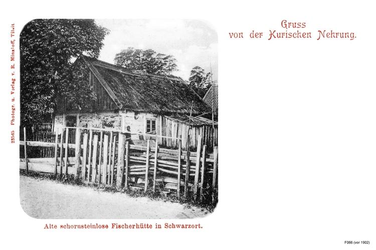Schwarzort, Fischerhütte