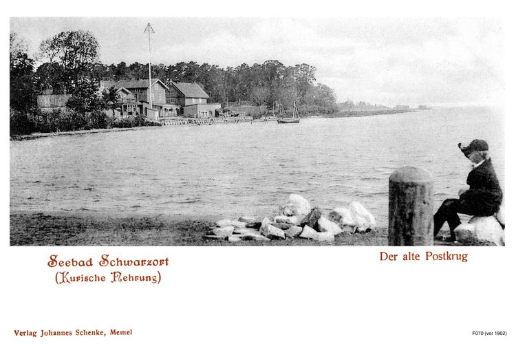 Schwarzort, Alter Postkrug