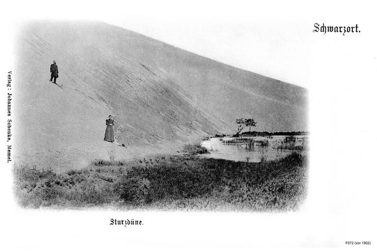 Schwarzort, Sturzdüne