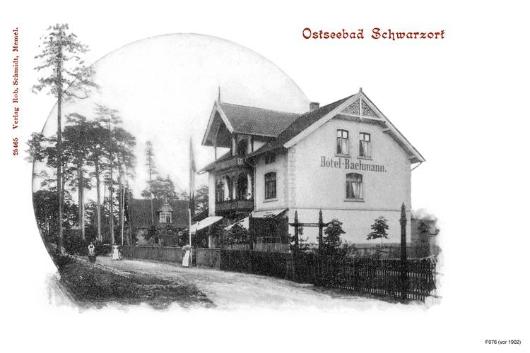 Schwarzort, Hotel Bachmann