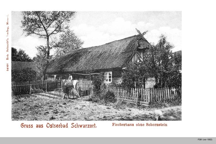 Schwarzort, Fischerhaus