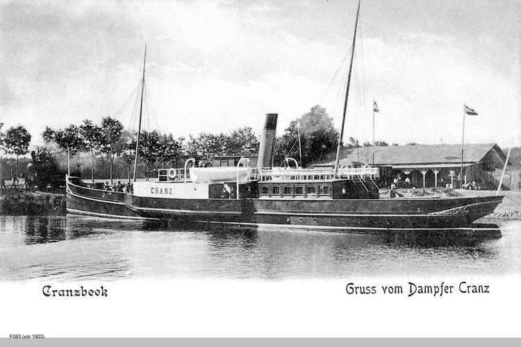 Cranzbeek, Salondampfer Cranz