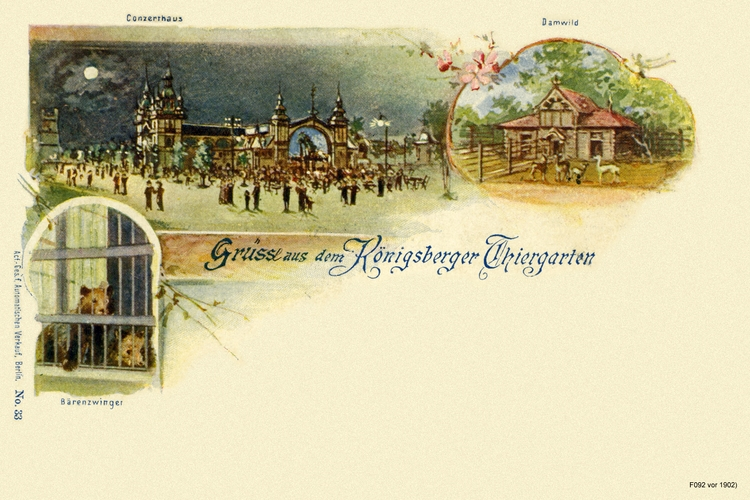 Königsberg, Gruß aus dem Tiergarten