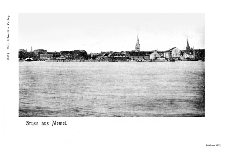 Memel, Ortsansicht