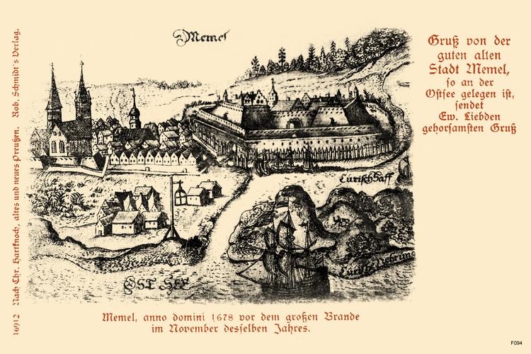 Memel, Anno 1678