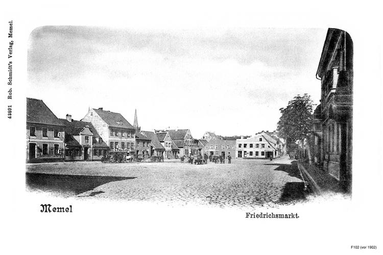 Memel, Friedrichsmarkt