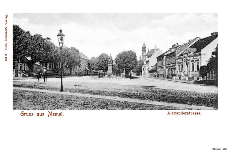 Memel, Alexanderstraße
