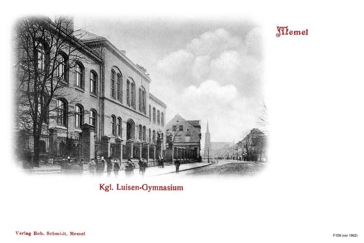 Memel, Luisengymnasium