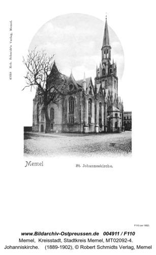 Memel, Johanneskirche