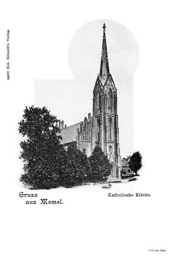 Memel, Katholische Kirche