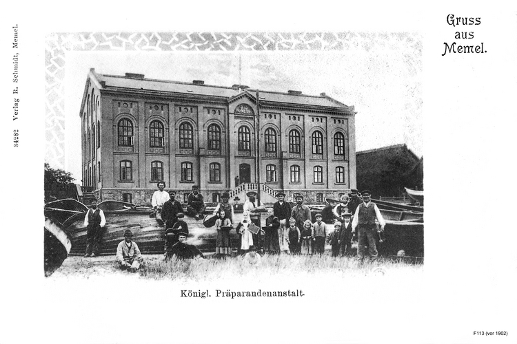 Memel, Königliches Präparandenanstalt