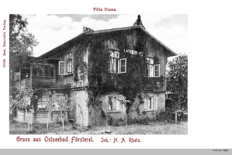 Seebad Försterei, Villa Diana
