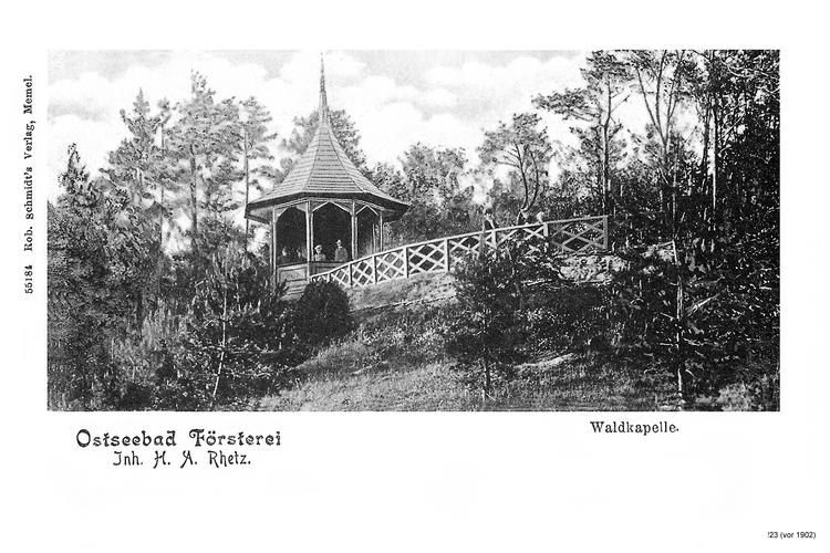 Seebad Försterei, Waldkapelle