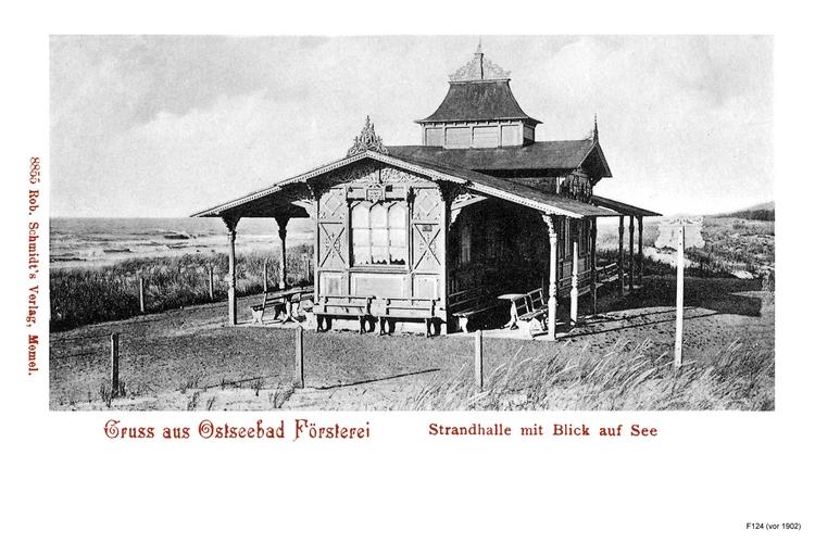 Seebad Försterei, Strandhalle