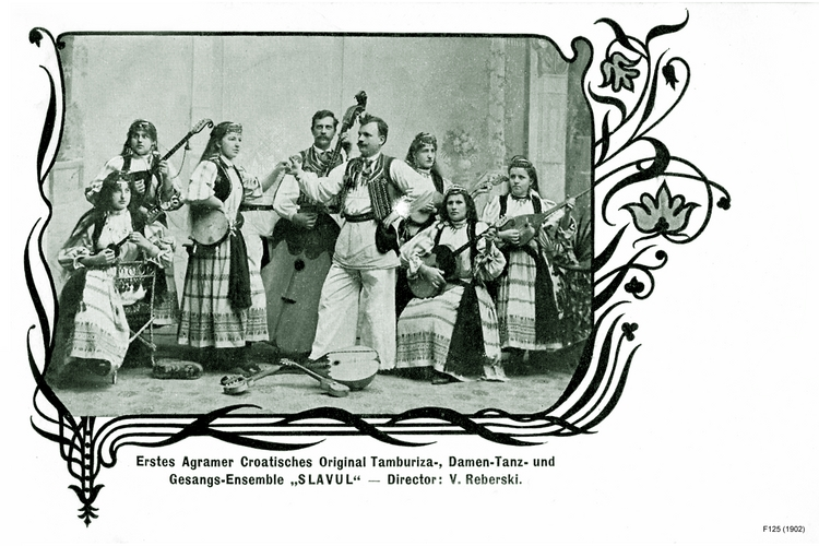 "Memel, Damen-Tanz-und Gesangs-Ensemble ""SLAVUL"""