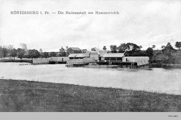 Königsberg, Badeanstalt am Hammerteich