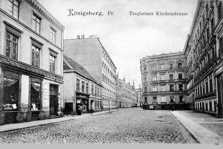 Königsberg, Tragheimer Kirchenstraße