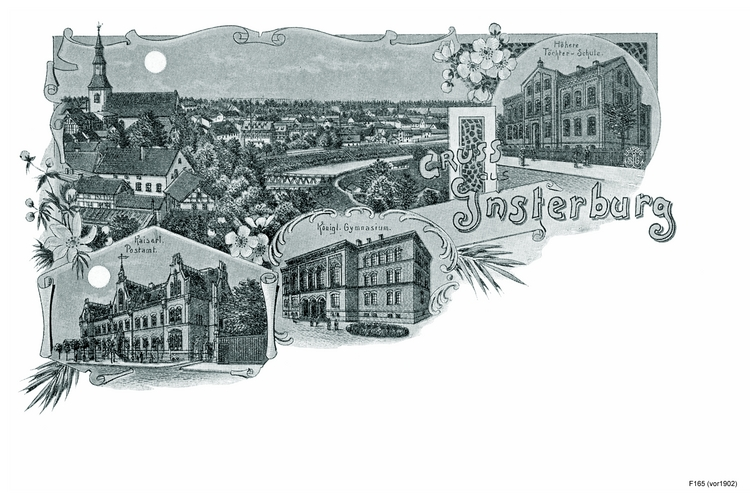 Insterburg, Sammelkarte