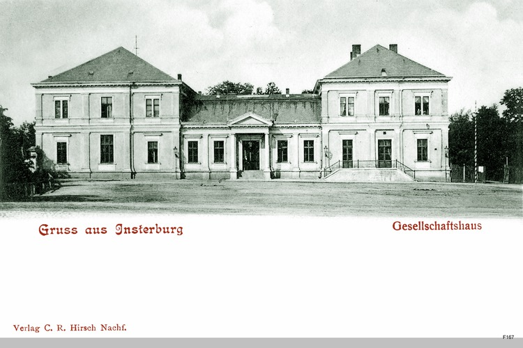 Insterburg, Gesellschaftshaus