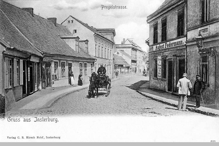 Insterburg, Pregelstraße