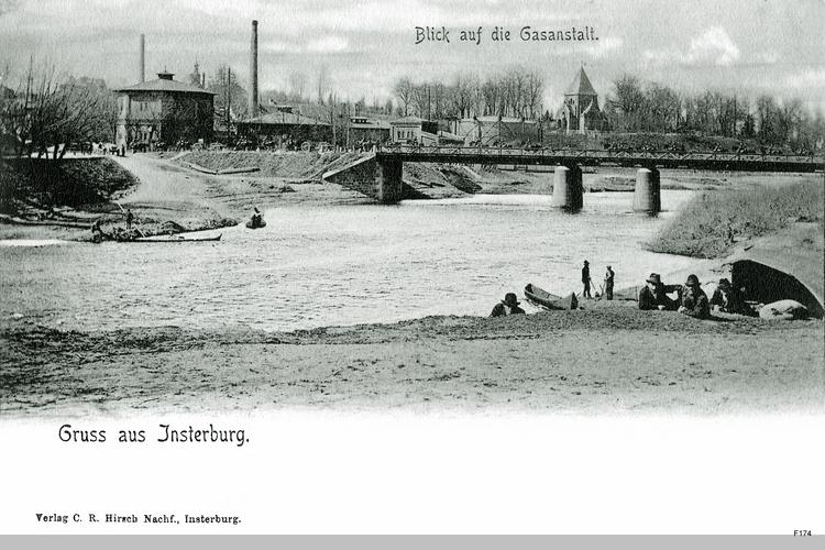 Insterburg, Gasanstalt