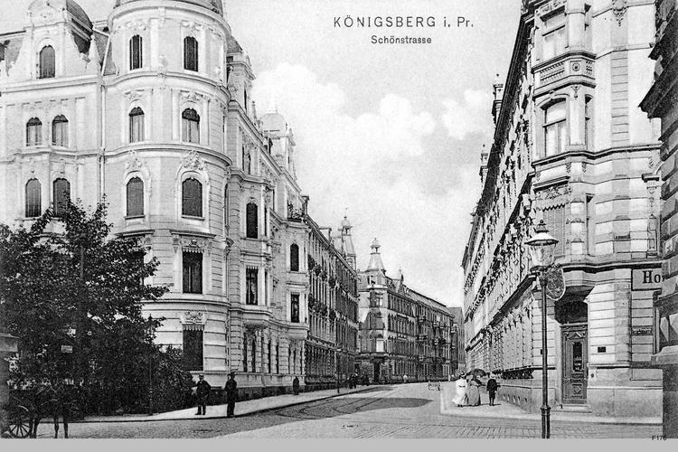 Königsberg, Schönstraße