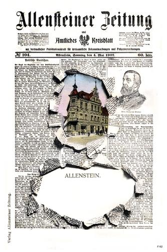 Allenstein, Allensteiner Zeitung