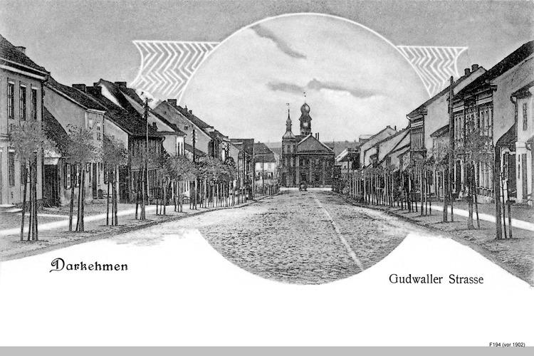 Darkehmen, Gudwaller Straße