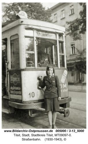 Tilsit, Straßenbahn