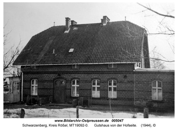 Schwarzenberg, Gutshaus von der Hofseite