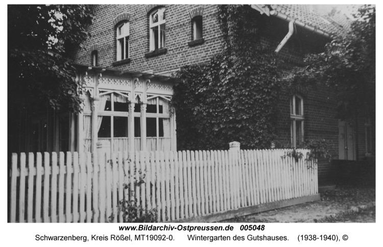 Schwarzenberg, Wintergarten des Gutshauses