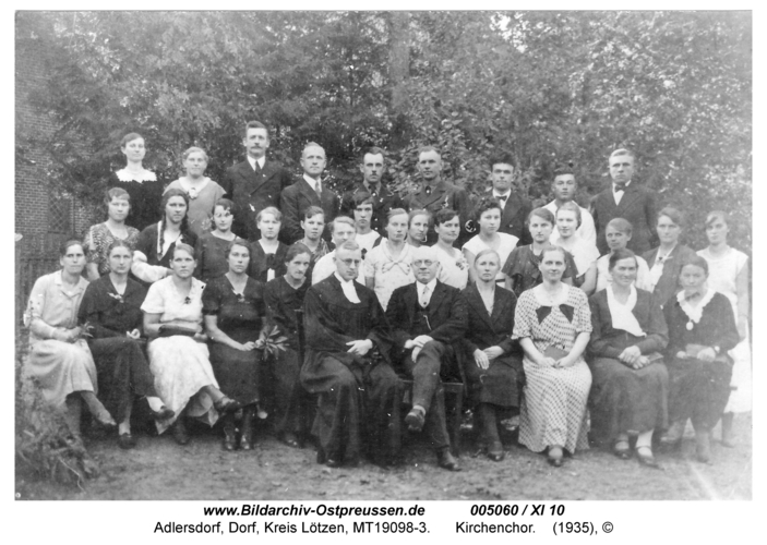 Adlersdorf, Kirchenchor