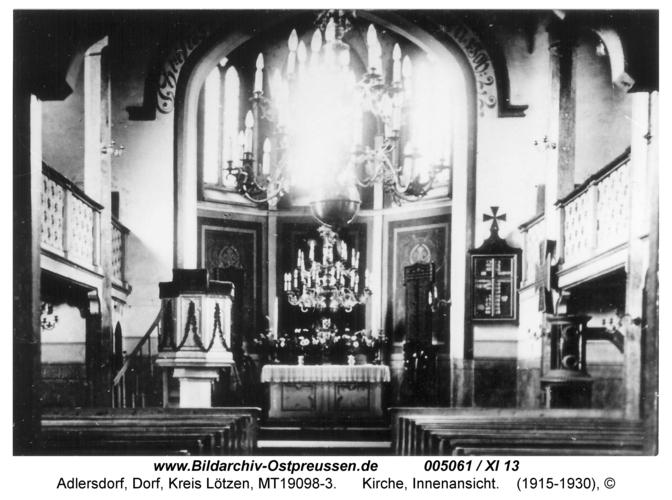 Adlersdorf, Kirche, Innenansicht