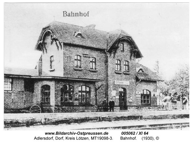 Adlersdorf, Bahnhof
