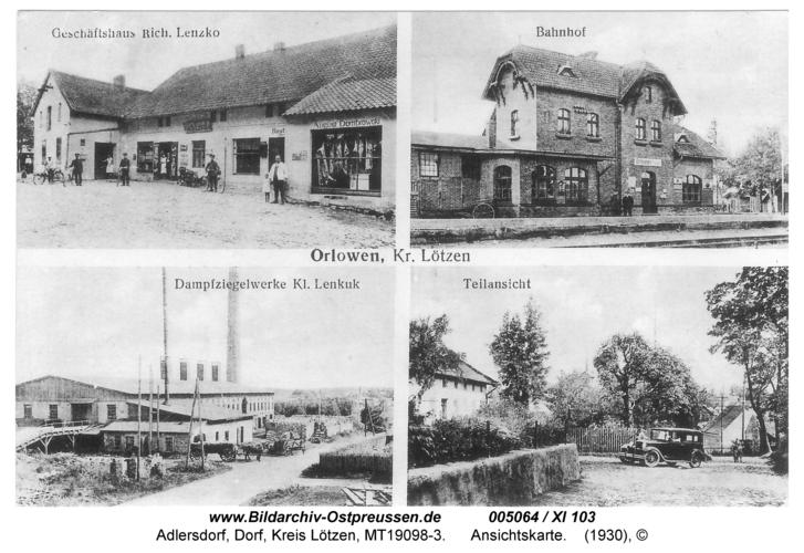 Adlersdorf, Ansichtskarte