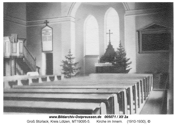Groß Stürlack, Kirche im Innern