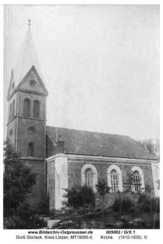 Groß Stürlack, Kirche