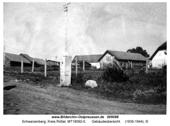 Schwarzenberg, Gebäudeübersicht