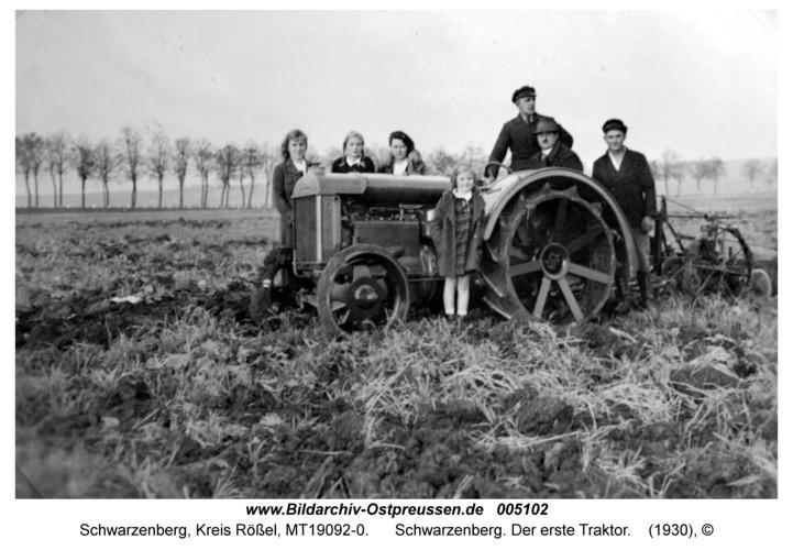 Schwarzenberg. Der erste Traktor