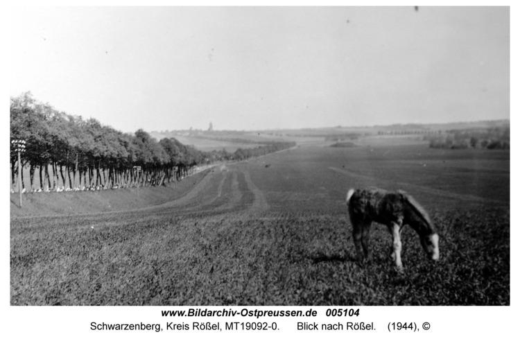 Schwarzenberg, Blick nach Rößel