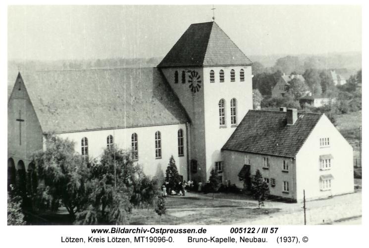 Lötzen, Bruno-Kapelle, Neubau