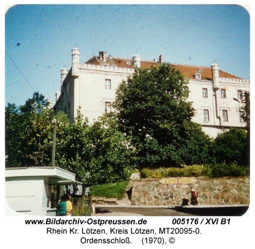 Rhein, Ordensschloss