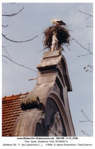 Tilsit, Splitterer Str. 11, die Laasersche Villa