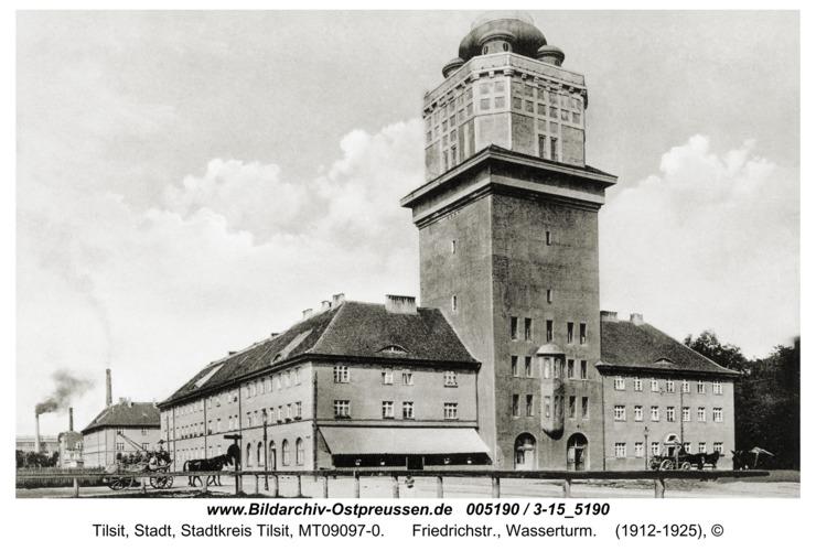 Tilsit, Friedrichstr., Wasserturm